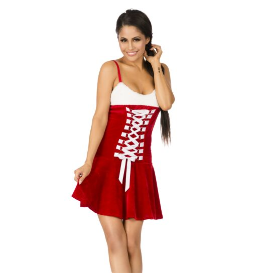 Xmas-Set, rot/weiß, onesize