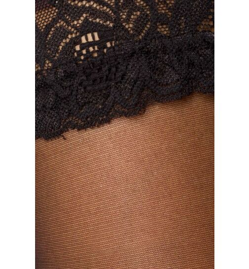 Beileisi 2132 Stockings mit Silikon, schwarz, onesize