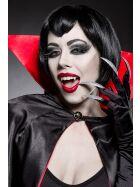 Mask Paradise 80012 Vampirkostüm: Sexy Vampire, schwarz/rot, Gr: XS-M (34-38)