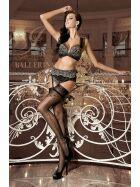 Ballerina BA259 Stockings mit Silikon, schwarz