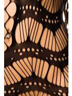 Minikleid aus Netzstoff, schwarz, Gr.: S/M (36-38)