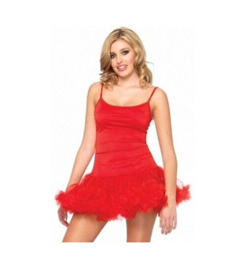 Leg Avenue Petticoat-Minikleid, rot, Gr.: S/M (36-38)
