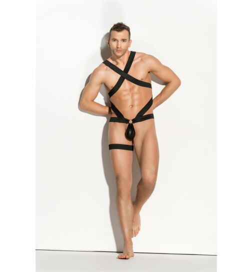 meSeduce Gonzalo Harness Set, schwarz