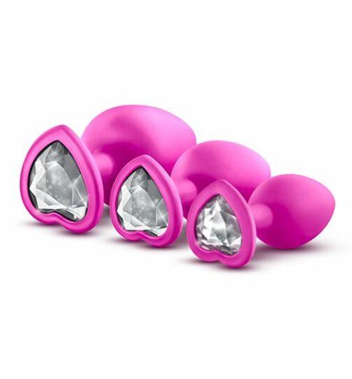 Analplug-Set, pink